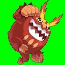 Darmanitan - Pokémon - Pokémon Conquest - veekun