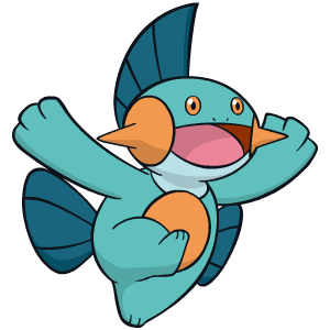 Marshtomp flavor – Pokémon #259 - veekun