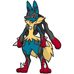 Mega Lucario flavor – Pokémon #448 - veekun