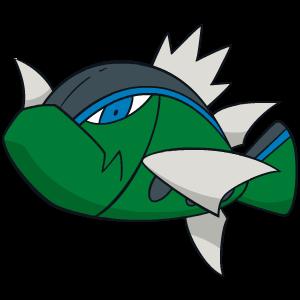Blue-Striped Basculin flavor – Pokémon #550 - veekunBasculin Evolution Chart