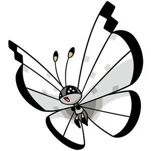 Icy Snow Vivillon