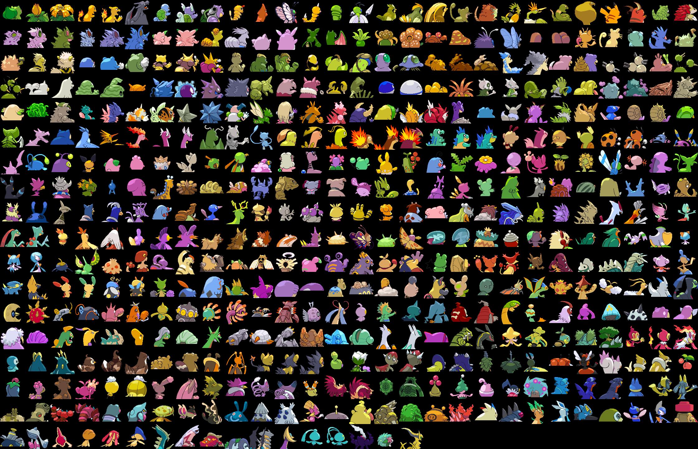 Pictures of pokémon gold and silver beta pokedex